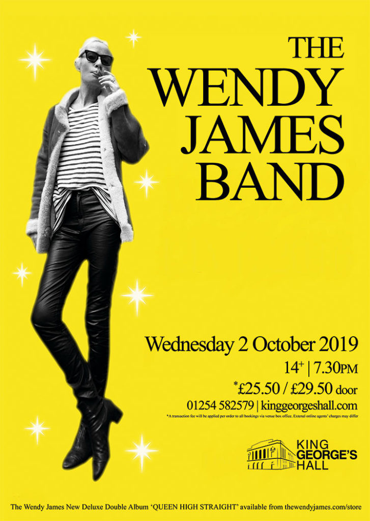 Read Latest News About Wendy James Featuring Gig Details